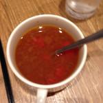 いしがまやハンバーグ - スープ