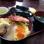 味政 - 海鮮丼 並 1200円