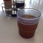 レストハウス浜寺 - セルフのほうじ茶 ほのかにつめたい♥︎