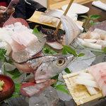 食彩ゆう - 料理写真:お刺身盛り合わせ