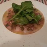 ラ・ポム・ド・パン - 本日の鮮魚のカルパッチョ