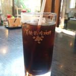 宮ヶ瀬茶屋 花かげ - アイスコーヒー