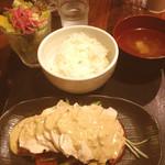 大ど根性ホルモン - 棒棒鶏定食