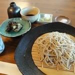 まんか - 料理写真:十割そば ¥800(税込)