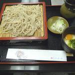 そば・うどん処「ふじみ庵」 - 料理写真:冷やし とろろ蕎麦