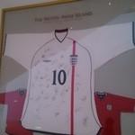 29905050 - ☆2012ワールドカップイングランド代表のサイン☆