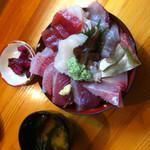29906704 - ふっき丼(海鮮丼)1300円