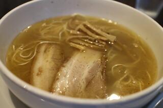 ラーメン専門店 徳川町 如水 - 定番の塩ラーメン