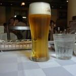 中之島倶楽部 - 生ビール(600円)がおいしかったぁ