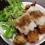 のぶしま - 鶏の唐揚げ