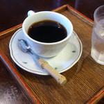 門前茶寮彌生座 - 「オールドビーンズ弥生座コーヒー」 496円