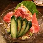 鳥伊勢 - 和風野菜サラダ