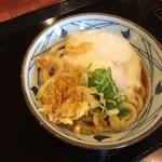 丸亀製麺 - 温玉ぶっかけ