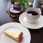 チーズケーキ CAFE MAGY - オレンジサワーチーズケーキ