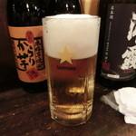 石松 - おかわりの生ビール