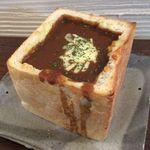カフェ 呂久呂 - チーズカレージャンボトースト(2014/08/18撮影)