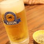 海鮮茶屋えびしま - 生ビール