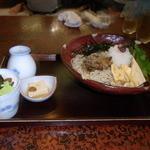 箱根乃庵 - 梅肉おろしそば1,080円也
