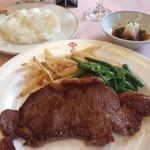 すき亭 吉寅 - 牛サーロインステーキ