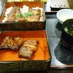 水門 - 料理写真:うな重特上(4切れ)