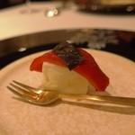29947968 - パプリカのピクルスとモッレラチーズ