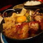 居酒屋 美濃家 - 若鶏の鍋焼き定食