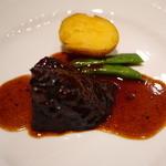 りょうりにん みわ - 牛ほほ肉の赤ワイン煮