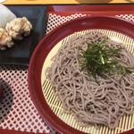 ぎゅーぎゅー亭 - 料理写真:ざるそばセット♪