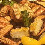 海鮮市場 - 毛ガニ
