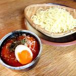 濃厚カルビスープのつけ麺