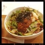 Maisai - 山いもとオクラのサラダごはん /  ヘルシー志向の良さげな飲食店を発見しました。