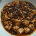 城北飯店 - 2014年4月 これが陳麻婆豆腐だ!普通の麻婆豆腐ランチもあるから間違えないでね!