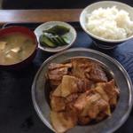 越後屋 - 140819 肉トーフ定食