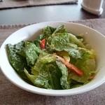 トラットリア ルーチェ - サラダ。あっぷ。