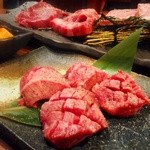 肉のきっしゃん - 厚切塩タン!