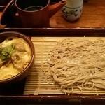 Torigen - せいろ小丼(親子)セット850円税込