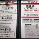 いきなり!ステーキ 赤坂通り店