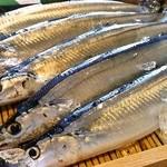 ほまれ菜食堂 - 料理写真:秋は秋刀魚!