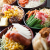 Monjakomachi - 料理写真:味が自慢のもんじゃは、ベースの味が9種類!