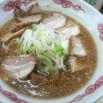 九州GTラーメン - にんにくチャーシューラーメン 大盛り
