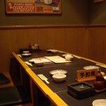 一番どり - 2009/7月:掘り炬燵式のテーブル席