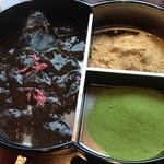廚菓子くろぎ - わらび餅  きなこと抹茶糖