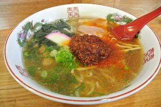 焼肉ミッキー - 焼肉ミッキー・濃く濃くラーメン¥680(2014.07)