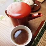 三佳 - 蕎麦湯