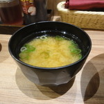 すためし - お味噌汁