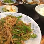 中華飯店青柳 - またきてしまった☆なぜか食べたくなる☆ここの青椒肉絲☆