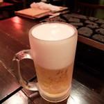 29962971 - お約束の生ビール 2014/08/19