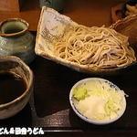 手打麺THE・うどん 大 - 2014年8月 そば切り