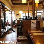 手打麺THE・うどん 大 - 2014年8月 店内