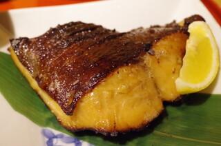 旬の味 たき下 - 黒むつの柚香焼